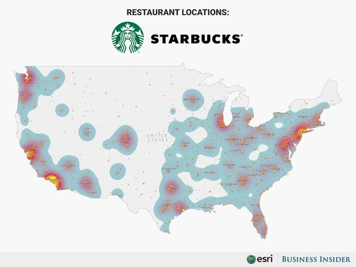 餐飲股有哪些可以投資:星巴克和麥當勞一樣,在美國本土有許多營業據點