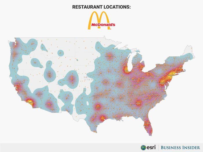 餐飲股有哪些可以投資:麥當勞光是在美國的營業據點就可以讓麥當勞非常賺錢