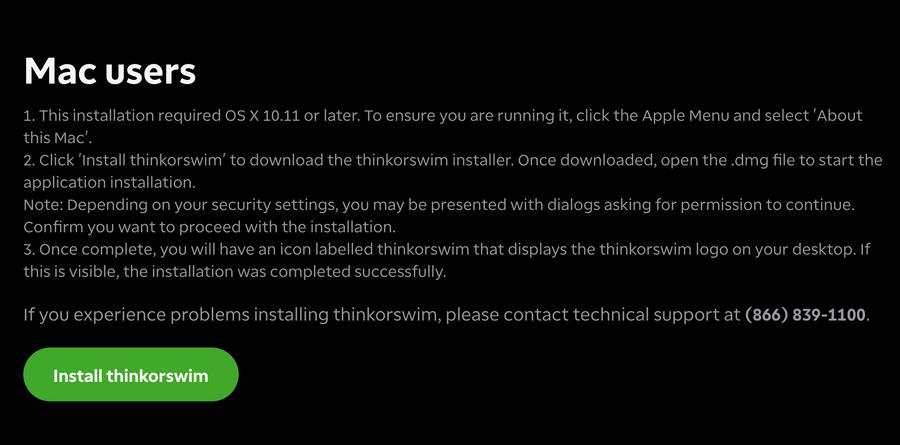 td ameritrade 開戶教學:mac軟體下載